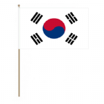 South Korea Country Hand Flag - Large.